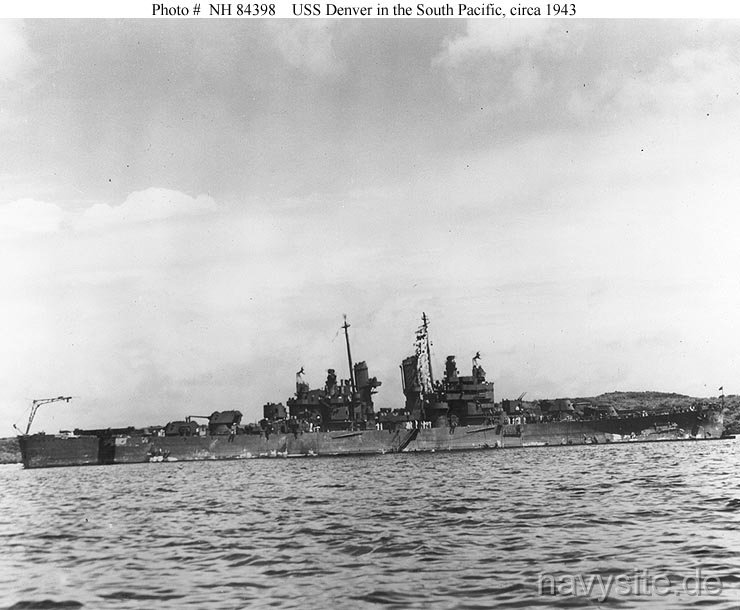USS Denver (CL 58