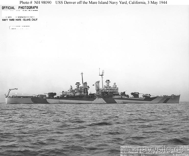 USS Denver (CL 58
