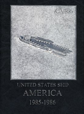 USS America CV NorLant And Mediterranean Cruise Book - Uss america cruise ship