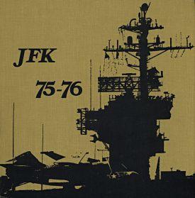 uss john f kennedy cv 67 mediterranean cruise book 1975 76