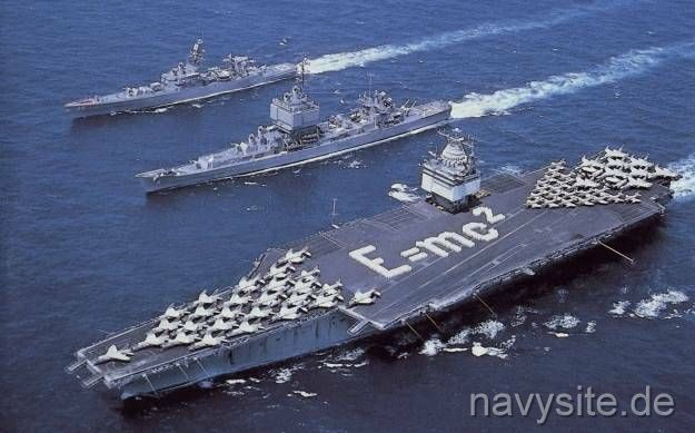 History Of Uss Enterprise Cvn 65