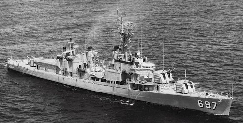 USS Charles S  Sperry (DD 697)