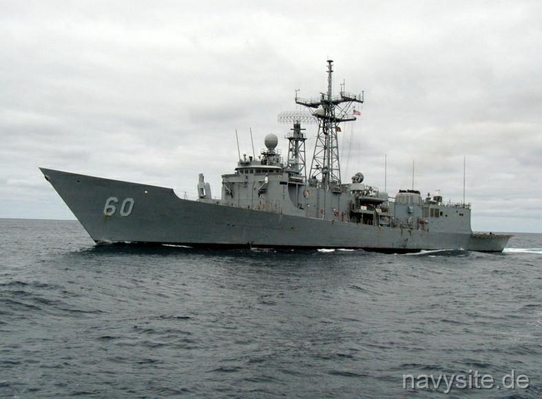 USS Rodney M  Davis (FFG 60)