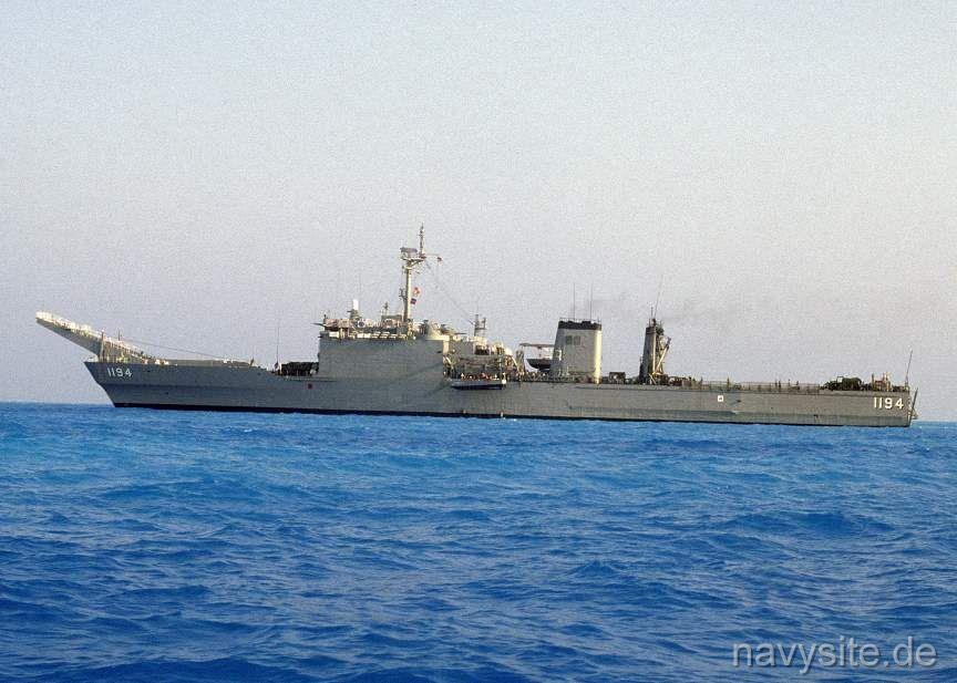 USS La Moure County LST 1194