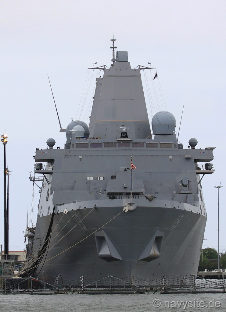 Lpd 17 Year Old Man Harbored His Runaway Juvenile: USS Mesa Verde (LPD 19