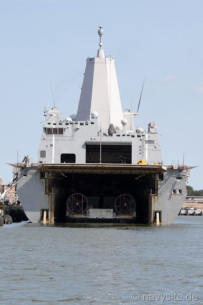 Lpd 17 Year Old Man Harbored His Runaway Juvenile: USS Arlington (LPD 24