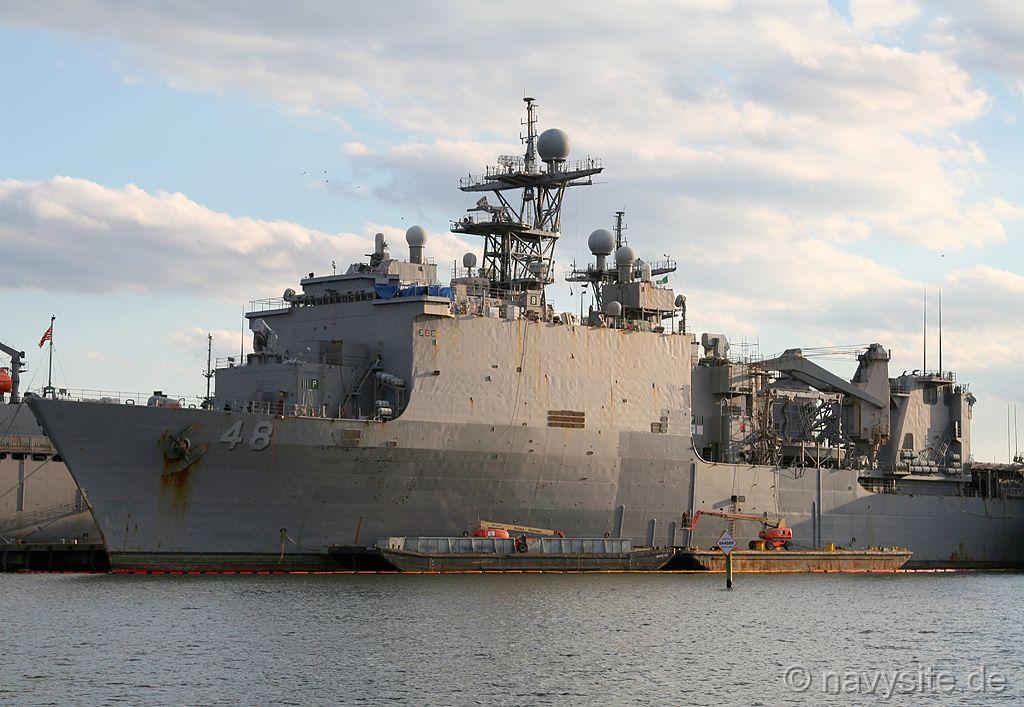 USN Navy USS ASHLAND LSD 48 Naval Ship Photo Print