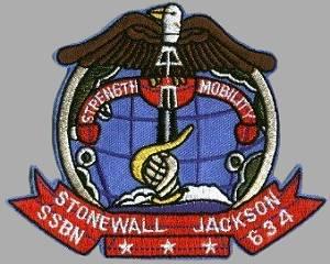 USS Stonewall Jackson SSBN-634 Ball Cap Submarine Dolphins FBM Veteran Navy Hat